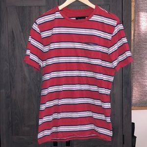 Brixton Striped Pocket T-shirt